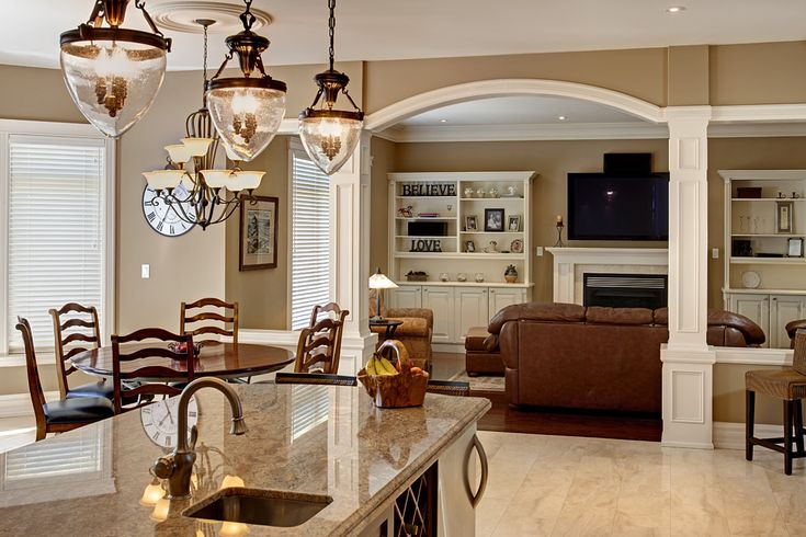 Beautiful Open Kitchen Design In Law Suites Pinterest