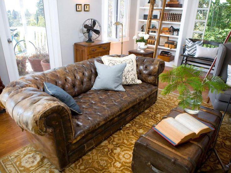 Chesterfield wohnzimmer  Die besten 25+ Tufted leather sofa Ideen auf Pinterest ...