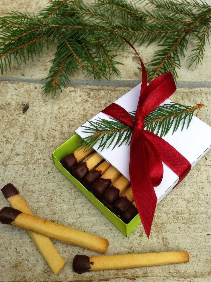 Streichholz - kekse