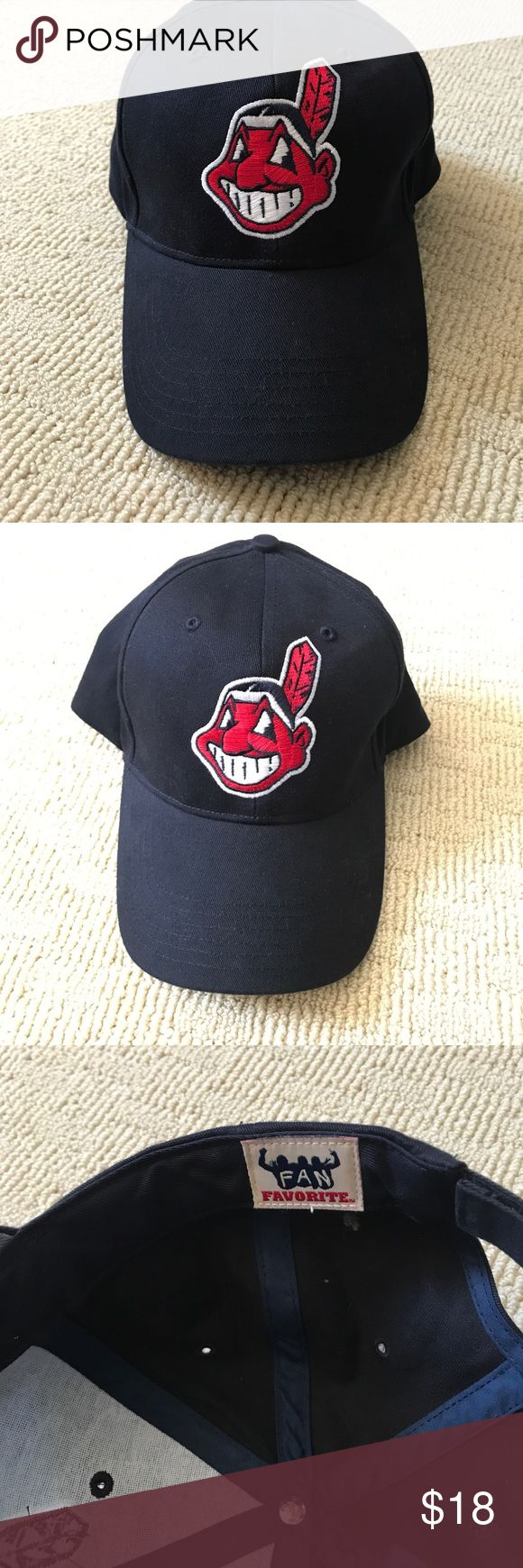 Cleveland Indians Baseball Hat (never worn) Perfect condition, never worn! Baseball Accessories Hats