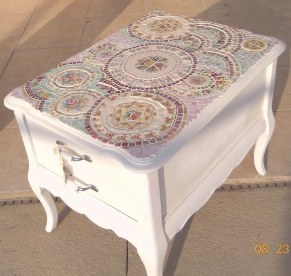 Broken Tile Coffee Table: 143 Best Project Ideas Images On Pinterest