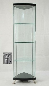Klingsbo Light | Corner Glass Curio Display Cabinet