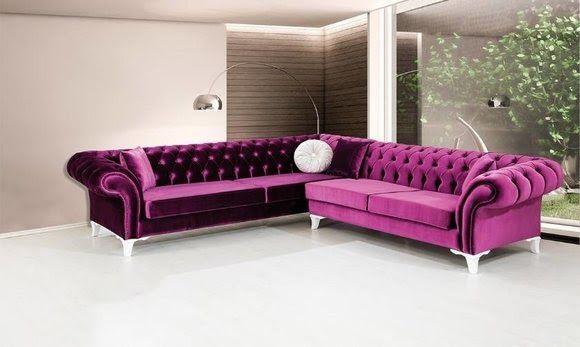 Ecksofa Ledersofa Sofa Polster Eck Couch Garnitur Sitz Design Pink Chesterfield Kare Design Sofa In 2020 Sofa Set Designs Beautiful Sofas Modern Furniture Living Room