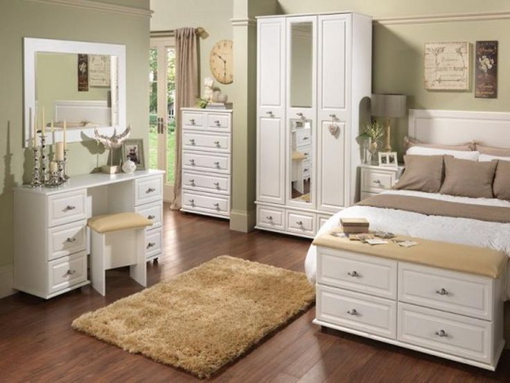 White Bedroom With Brown Furniture white bedroom with brown furniture - home design ideas