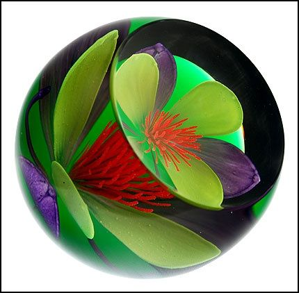 """Scottish Glass Paperweights 