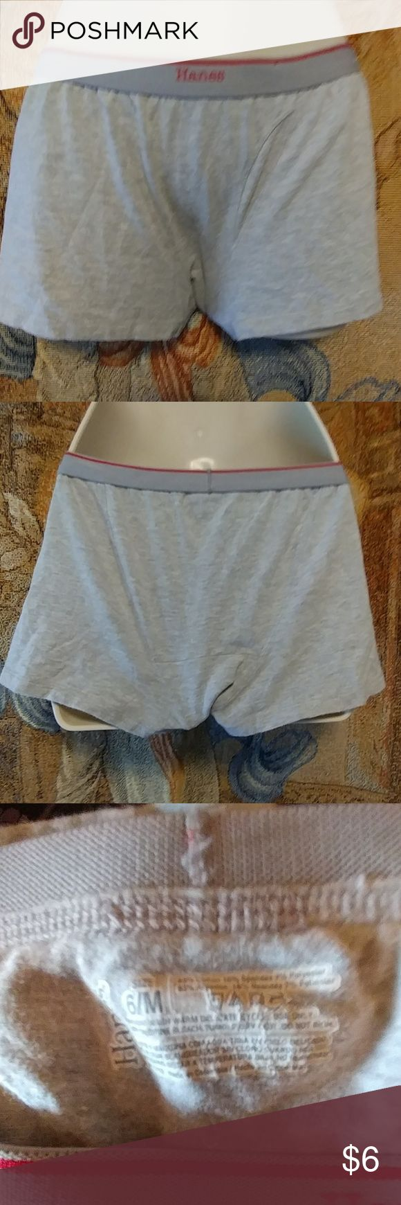 ??  WOT?? Hanes Boy Boxers For Women Hanes boy boxers for women. .new never worn. Hanes Shorts