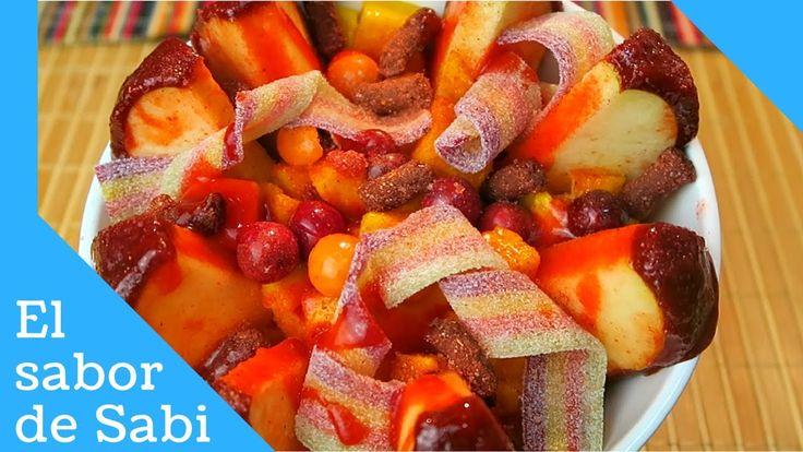 Manzana Cubierta con Tamarindo y Chamoy/El sabor de Sabi