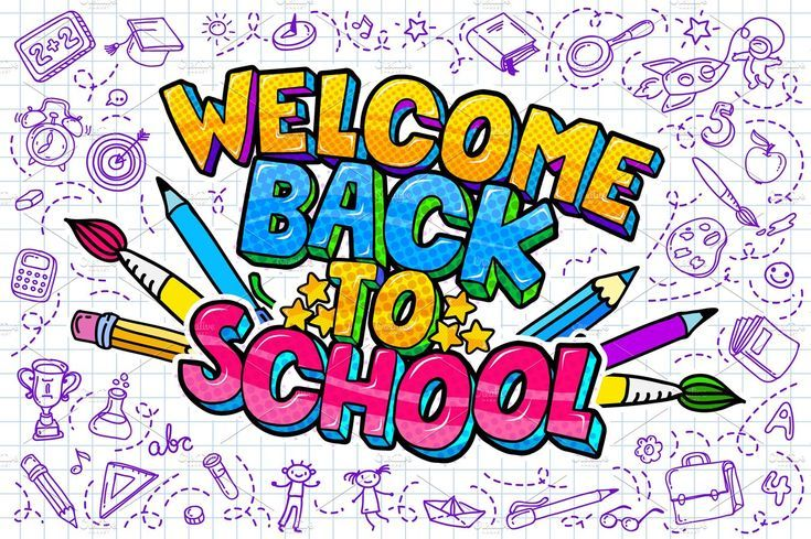 Welcome Back To School, #AFFILIATE, # supplies # school # drawn ...