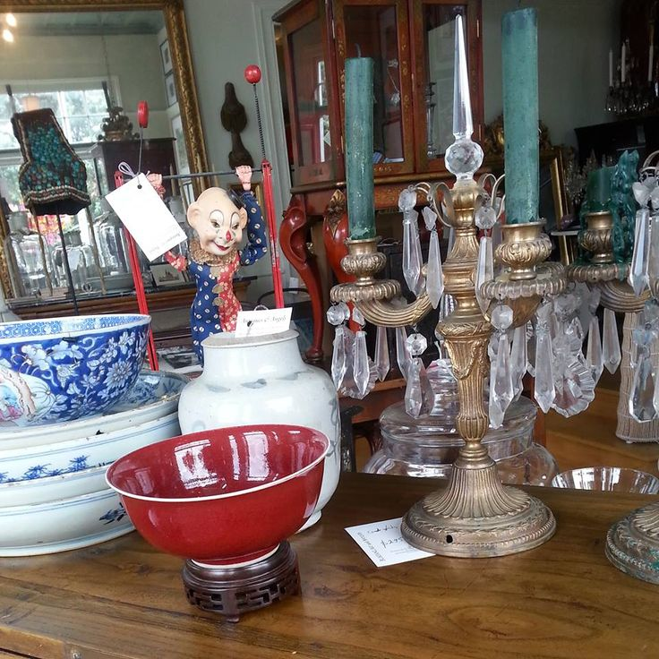 New Classical table candelabra's, Toy Jimmy, and a selection of Japanese ceramics... #mixitup