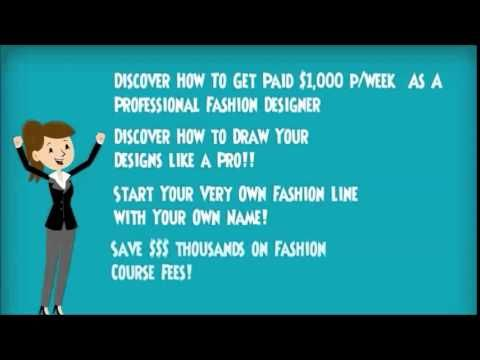 Become A Famous Fashion Designer - YouTube
