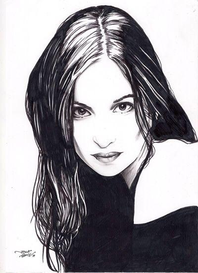 Retrato a tinta