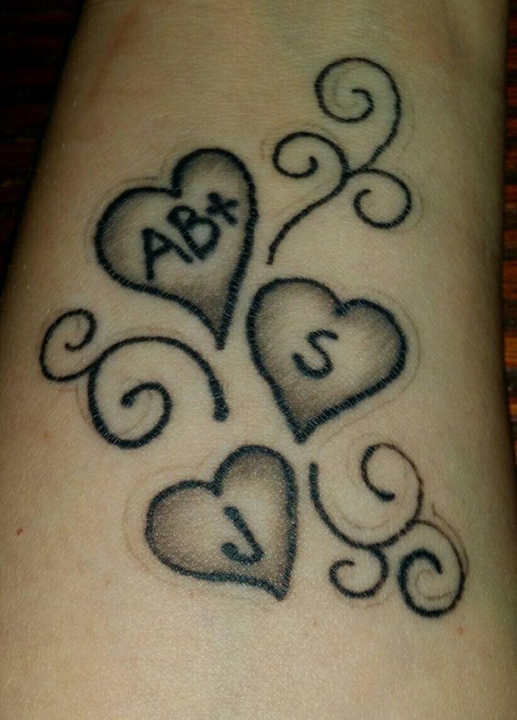 wrist heart tattoo blood type tattoo syd n tatuoinnit pinterest type tattoo and tattoo. Black Bedroom Furniture Sets. Home Design Ideas