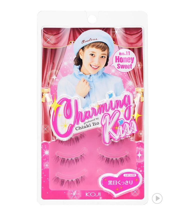 Charming Kiss Eyelash No.11 Honey Sweet 챠밍키스 아이래쉬 No.11 허니 스위트