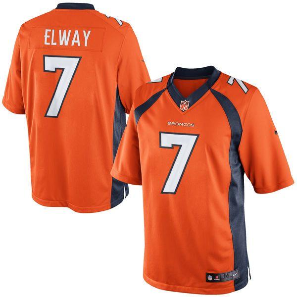John Elway Denver Broncos Nike Retired Player Limited Jersey – Orange - $149.99