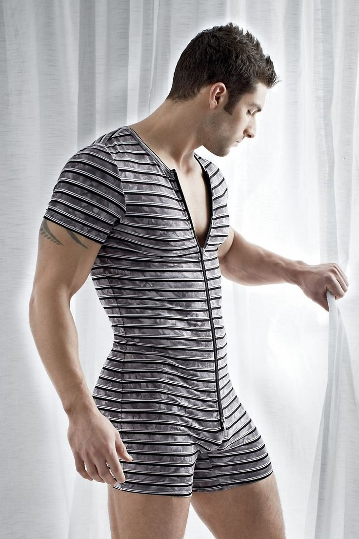 """These days, """"onesies"""" are mostly worn as pajamas, mostly by men with tribal tattoos."""