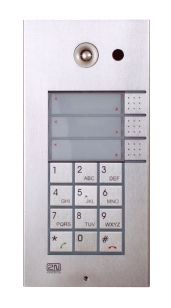 www.tiptel.nl - 2N® Helios IP Vario 3 button, keypad