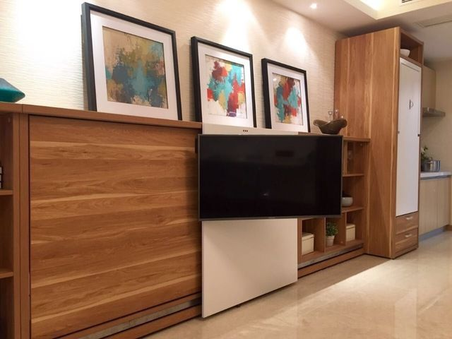 source new design modern furniture wall mounted bed for sale on malibaba