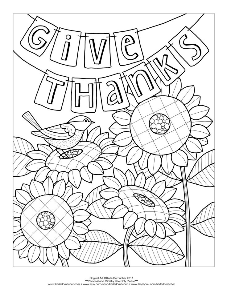 Give-Thanks-Freebie.jpg (2550×3300)   Bible coloring pages ...
