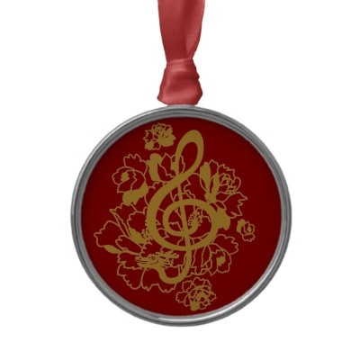 New Year Dragon-treble clef