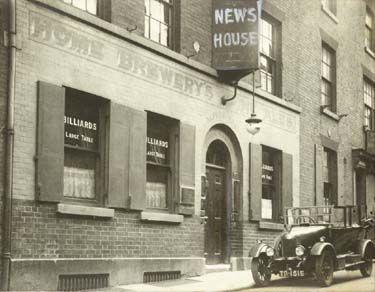 News House public house, St James's Street, Nottingham, 1926