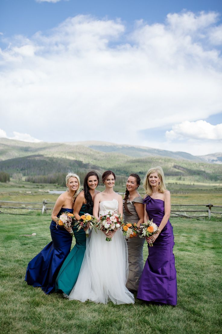 Beautiful Bridesmaids Dresses For Autumn | Photography: Chowen Photography:
