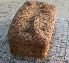 VEGAN Pão 100% Integral super fácil que não precisa nem sovar.
