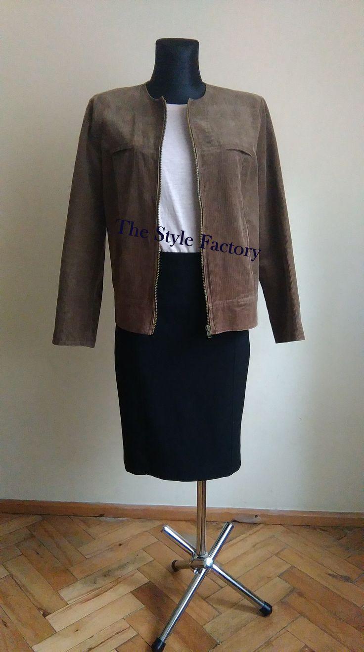 corduroy jacket // thestylefactory.pl //
