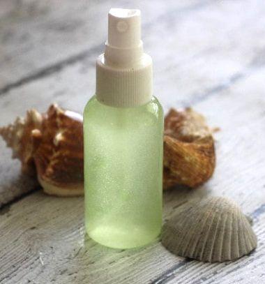 Homemade soothing  aloe vera summer face and body mist  // Aloe verás gyógyító és hűsítő nyári testpermet házilag (napégésre) // Mindy - craft tutorial collection