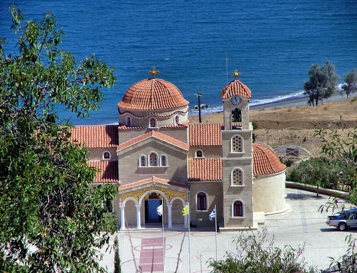 The Greek Orthodox Church of St Raphael (4)      In Pachyammos, Cyprus