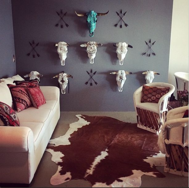 skull bedroom decor 25 best ideas about cow skull decor on deer 13167