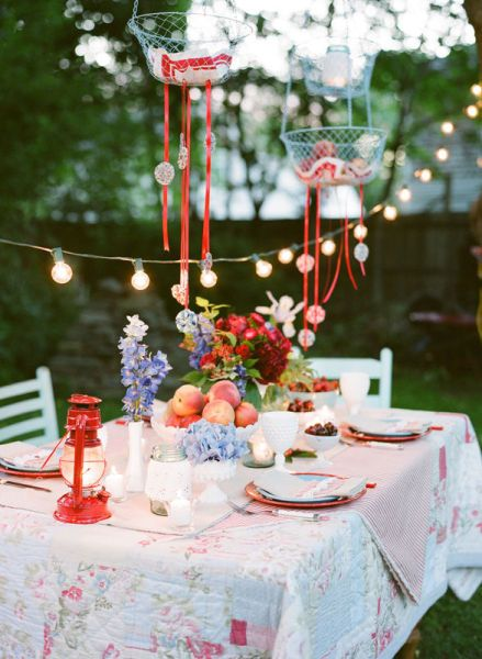 Feest Styling | Oranje feest | Stijlvolle tuin feest versiering • Stijlvol Styling - WoonblogStijlvol Styling – Woonblog