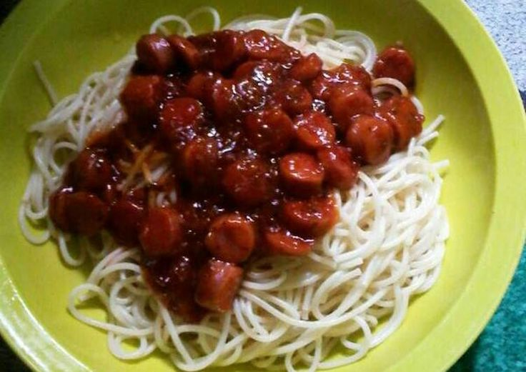 Resep Spagetti sosis bolognaise