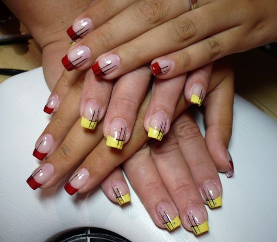 Completely thick nails!