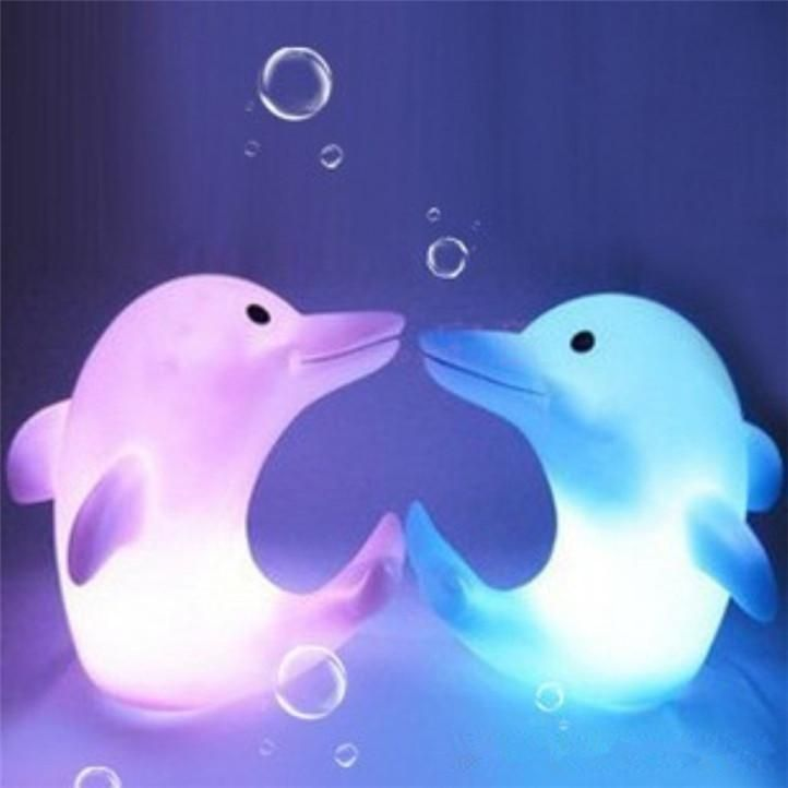 Colorful Dolphin LED Nightlights Novelty Toys