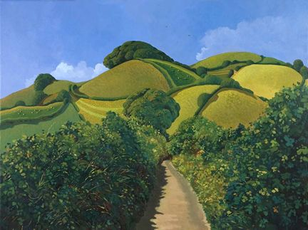 Limited Edition Prints Artist Jo March - Bokenna (The Lane)