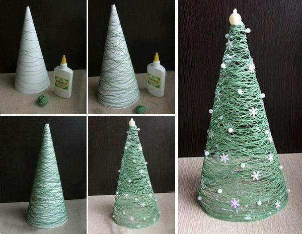 Vianočných inšpirácií nikdy nie je dosť, preto Vám prinášame ďalší z rady vianočných nápadov - dekoračný stromček, ktorý