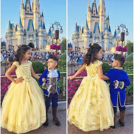 LUX Beauty and the Beast 2017 Disney prince costume for boy.   #ryansecret #belle #disney #disneyprincess #disneyprince #beautyandthebeast #disneyland #disneyworld #california #beautyandthebeast2017 #royalcostume #halloween #halloweencostume