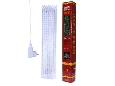 SOPLE LED 240 ZEWNĘTRZNE LAMPKI CHOINKOWE BIAŁE