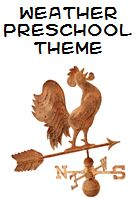 Weather Theme and Activities for Preschool.   -Repinned by Totetude.com