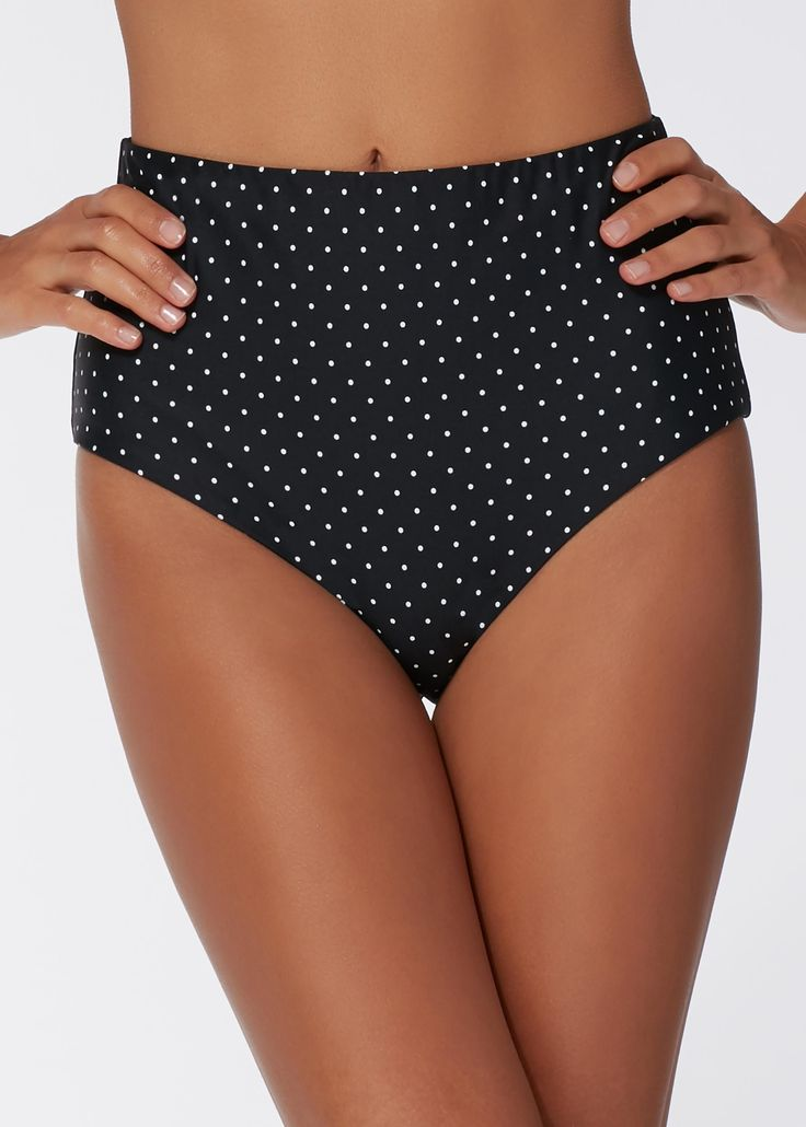 Buy Christina Polka Dot High Waist Bikini Bottoms on our official Calzedonia website. Experience our long history of tradition and quality.
