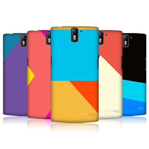HEAD CASE DESIGNS COLOUR BLOCKING HARD BACK CASE FOR ONEPLUS ONE #HeadCaseDesigns