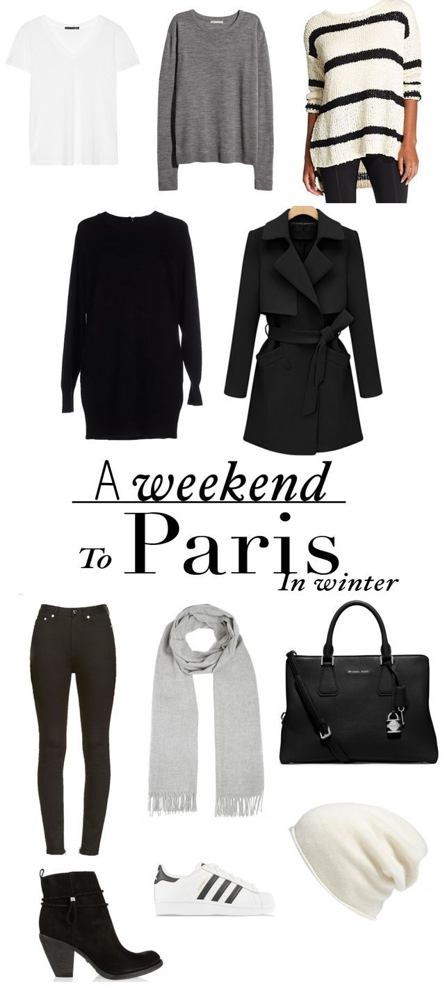 What To Pack For A Weekend In Paris – Winter Edition | The Tourist Of Life | Bloglovin'