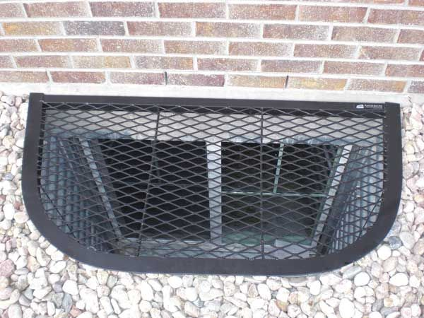 window well covers basements liners diy compression jamb boxes
