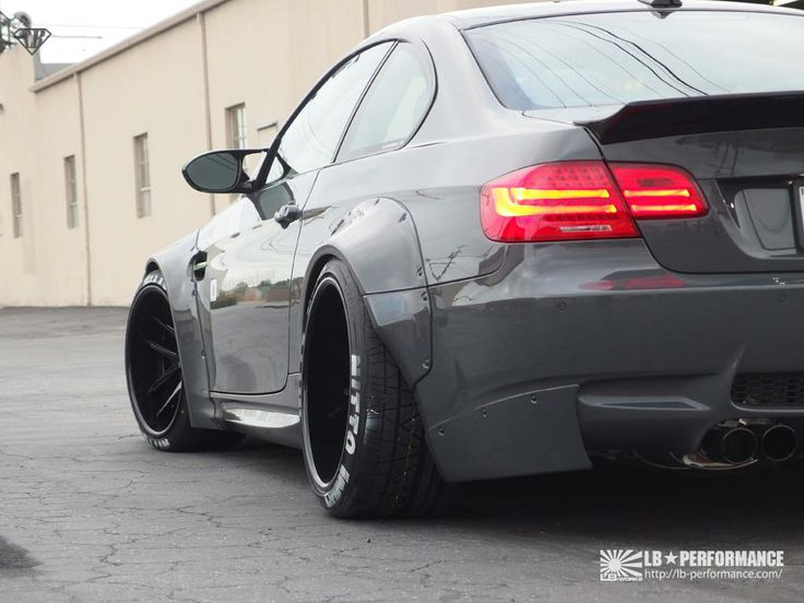 BMW E92 M3 By Liberty Walk LB Performance BMW Tuners