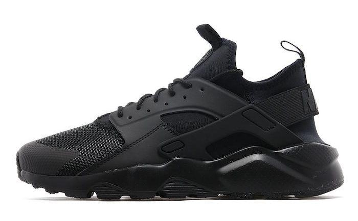 Nike Huarache Black   Chaussure homme tendance – Les valeurs sûres du  vintage 06fd7396bdbb
