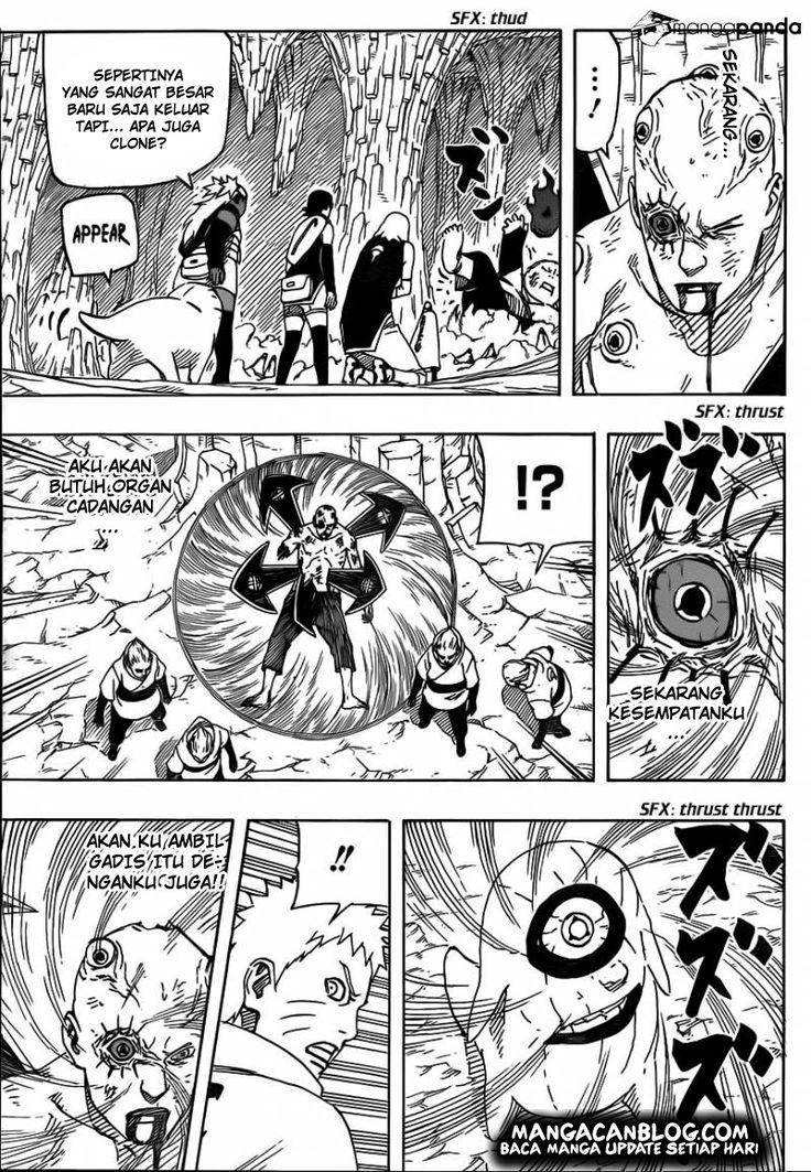 Manga naruto gaiden chapter 710 pedang tak terhitung