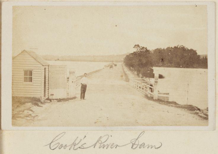 Cooks River Dam in 1871.