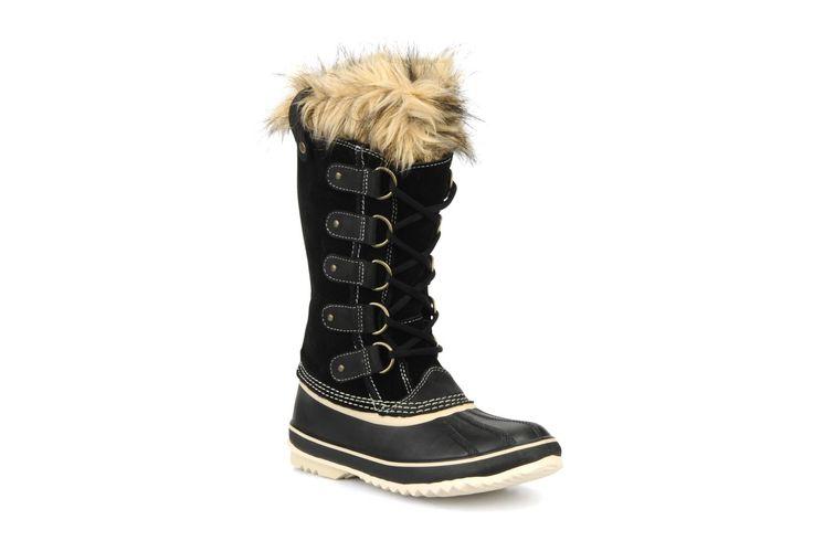 ¡Cómpralo ya!. Joan of artic by Sorel. ¡Envío GRATIS en 48hr! Zapatillas de deporte Sorel (Mujer), disponible en 36|37|41|43 Botas Sorel Joan Of Artic para mujer, en nobuk y piel sintética, con punta redonda, cordones (5 pasantes) y suela de caucho. Plantillas extraíbles. La anchura del zapato para un número de pie 38 es de 11 cm. ¿Quién ha dicho que las condiciones climáticas extremas marcan lo que tenemos que ponernos? Con las botas con ribete forrado Joan Of Artic de Sorel, ¡dis...
