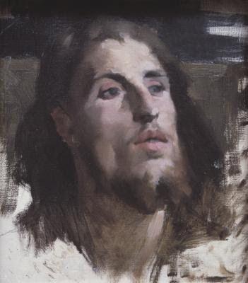 Male Head. Helene Schjerfbeck
