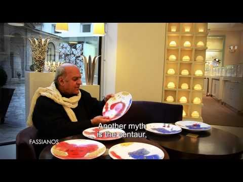 Collection Bernardaud 150 ans : Interview de Fassianos - YouTube